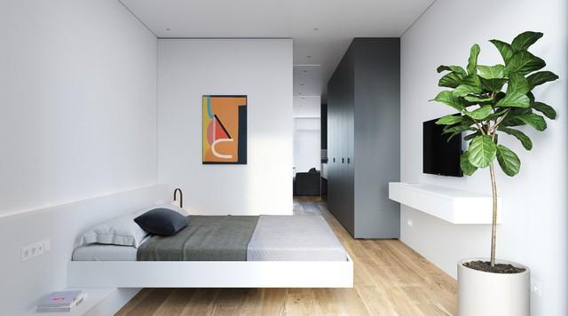 Tận dụng màu trắng căn hộ nhỏ của bạn sẽ được nới rộng một cách bất ngờ đấy - Ảnh 15.