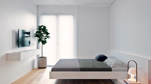 Tận dụng màu trắng căn hộ nhỏ của bạn sẽ được nới rộng một cách bất ngờ đấy - Ảnh 16.