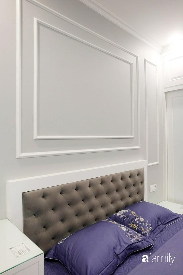 Từ hiện trạng trống trơn, căn hộ 81m² mặc chiếc áo tân cổ điển đẹp sang trọng với chi phí thi công 175 triệu ở Long Biên - Ảnh 17.