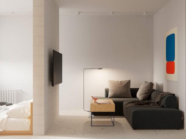 Tận dụng màu trắng căn hộ nhỏ của bạn sẽ được nới rộng một cách bất ngờ đấy - Ảnh 19.