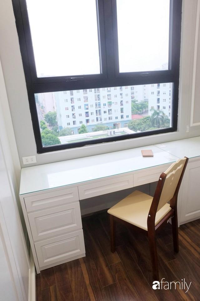 Từ hiện trạng trống trơn, căn hộ 81m² mặc chiếc áo tân cổ điển đẹp sang trọng với chi phí thi công 175 triệu ở Long Biên - Ảnh 19.