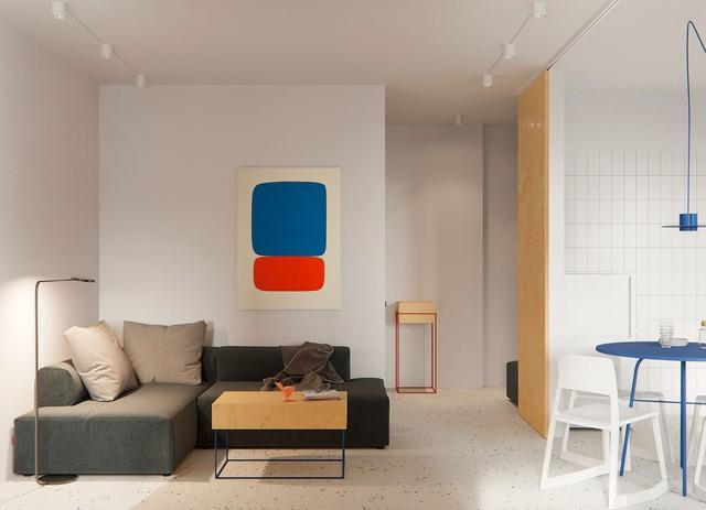 Tận dụng màu trắng căn hộ nhỏ của bạn sẽ được nới rộng một cách bất ngờ đấy - Ảnh 20.