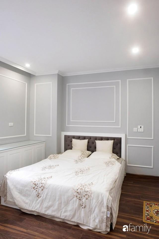 Từ hiện trạng trống trơn, căn hộ 81m² mặc chiếc áo tân cổ điển đẹp sang trọng với chi phí thi công 175 triệu ở Long Biên - Ảnh 20.