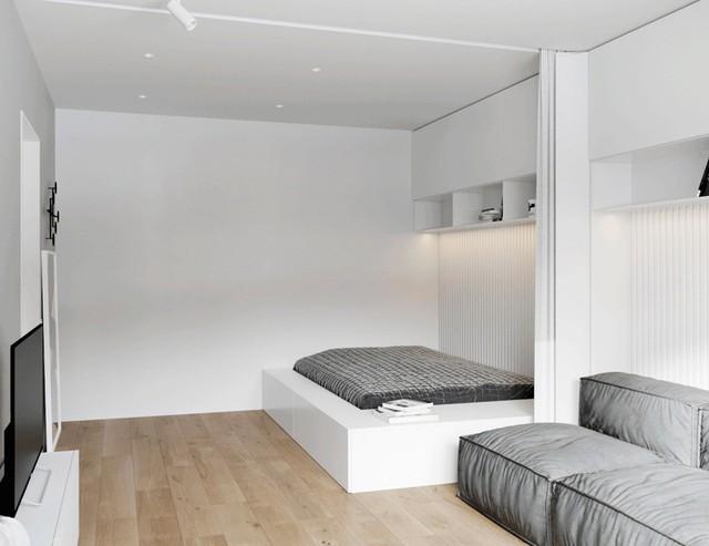 Tận dụng màu trắng căn hộ nhỏ của bạn sẽ được nới rộng một cách bất ngờ đấy - Ảnh 27.