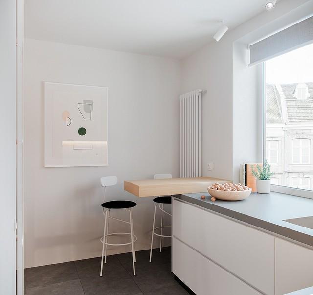 Tận dụng màu trắng căn hộ nhỏ của bạn sẽ được nới rộng một cách bất ngờ đấy - Ảnh 28.