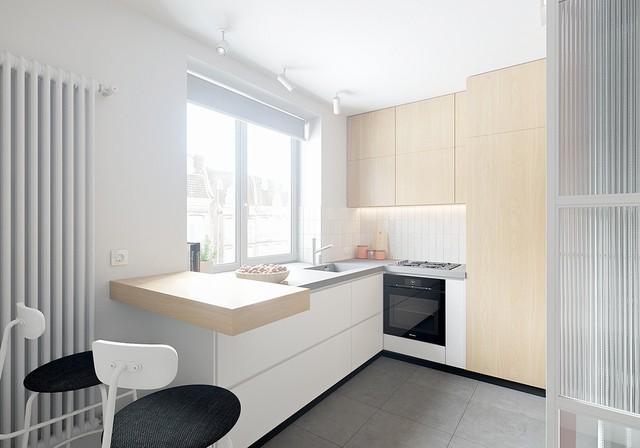 Tận dụng màu trắng căn hộ nhỏ của bạn sẽ được nới rộng một cách bất ngờ đấy - Ảnh 29.