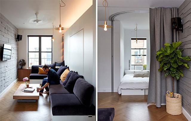 10 căn hộ nhỏ với thiết kế tinh xảo, nhiều người có nhà to cũng phải vật vã phát thèm - Ảnh 8.