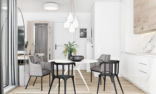 Tận dụng màu trắng căn hộ nhỏ của bạn sẽ được nới rộng một cách bất ngờ đấy - Ảnh 8.