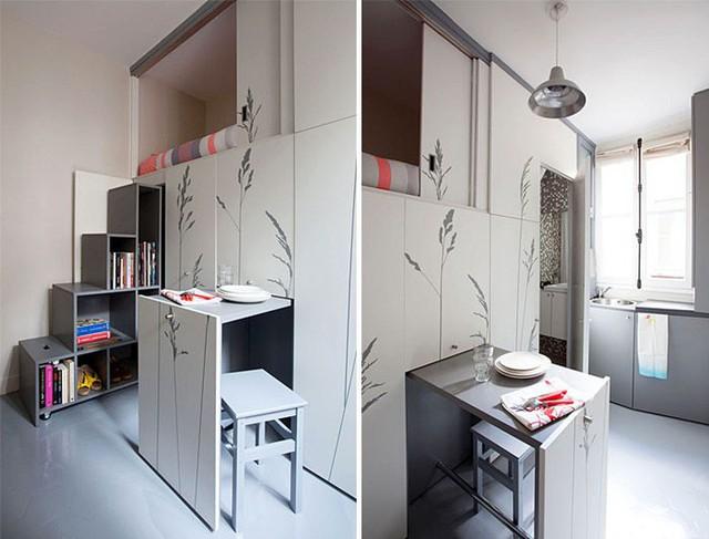 10 căn hộ nhỏ với thiết kế tinh xảo, nhiều người có nhà to cũng phải vật vã phát thèm - Ảnh 9.