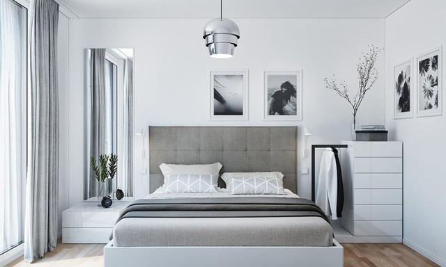 Tận dụng màu trắng căn hộ nhỏ của bạn sẽ được nới rộng một cách bất ngờ đấy - Ảnh 9.