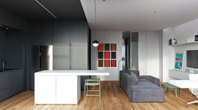 Tận dụng màu trắng căn hộ nhỏ của bạn sẽ được nới rộng một cách bất ngờ đấy - Ảnh 10.