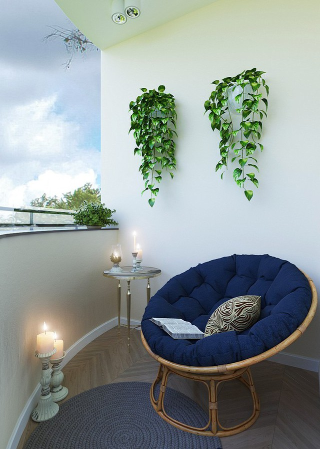 10 cách biến ban công nhà bạn thành nơi nghỉ dưỡng ai nhìn cũng mê mẩn - Ảnh 3.