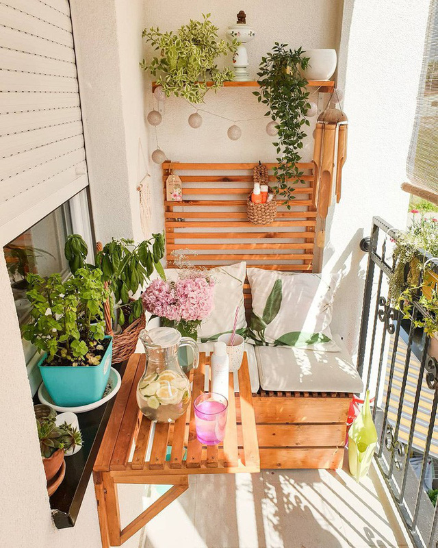 10 cách biến ban công nhà bạn thành nơi nghỉ dưỡng ai nhìn cũng mê mẩn - Ảnh 4.