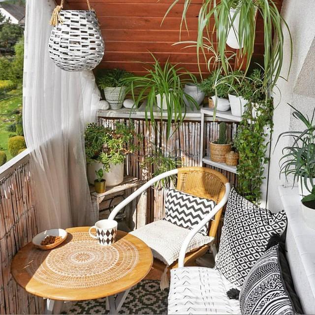 10 cách biến ban công nhà bạn thành nơi nghỉ dưỡng ai nhìn cũng mê mẩn - Ảnh 5.