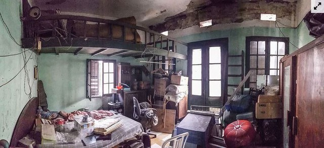 Nhà cổ hoang tàn ở Hà Nội đẹp như khách sạn sau sửa  - Ảnh 3.