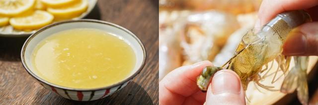 Dùng nồi cơm điện làm món tôm hấp bơ chanh thơm ngon nhức nhối không thua gì nhà hàng 5* - Ảnh 1.