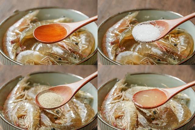 Dùng nồi cơm điện làm món tôm hấp bơ chanh thơm ngon nhức nhối không thua gì nhà hàng 5* - Ảnh 2.