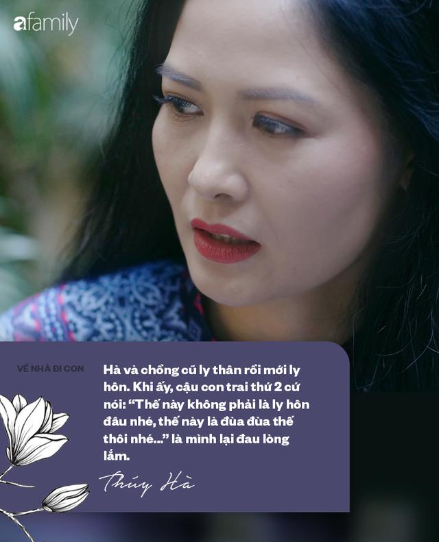 Thúy Hà cô Hạnh bán hoa của Về nhà đi con lần đầu xác nhận đã ly hôn: Tôi phải mất nhiều năm để đợi các con lớn mới quyết định điều đó - Ảnh 12.