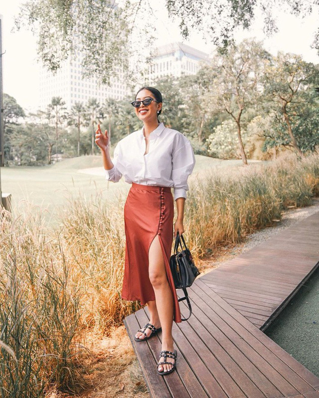 Đơn giản mà vẫn cuốn hút đây là phong cách nàng công sở học ngay để lên đồ cho cả tuần mặc đẹp - Ảnh 11.