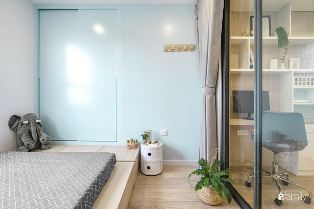 Căn hộ 65m² đẹp như nhà mẫu với điểm nhấn màu vàng và xanh mint của gia đình 3 người ở Quận 9, TP. HCM - Ảnh 15.