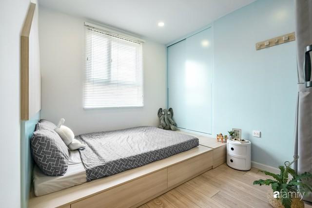 Căn hộ 65m² đẹp như nhà mẫu với điểm nhấn màu vàng và xanh mint của gia đình 3 người ở Quận 9, TP. HCM - Ảnh 17.