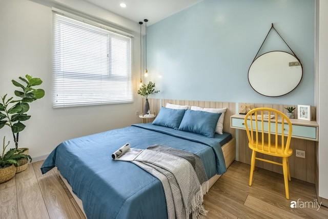 Căn hộ 65m² đẹp như nhà mẫu với điểm nhấn màu vàng và xanh mint của gia đình 3 người ở Quận 9, TP. HCM - Ảnh 19.