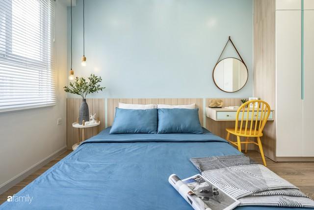 Căn hộ 65m² đẹp như nhà mẫu với điểm nhấn màu vàng và xanh mint của gia đình 3 người ở Quận 9, TP. HCM - Ảnh 21.