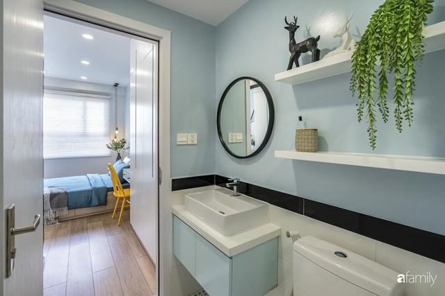 Căn hộ 65m² đẹp như nhà mẫu với điểm nhấn màu vàng và xanh mint của gia đình 3 người ở Quận 9, TP. HCM - Ảnh 23.