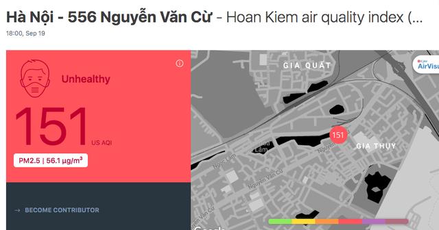 Ô nhiễm không khí những ngày này ở Hà Nội có thể tác động tới cả bào thai - Ảnh 2.