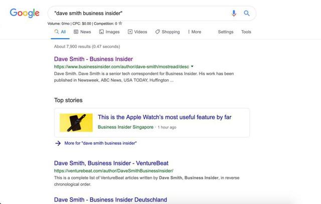 Những mẹo hay giúp bạn sử dụng Google Search tốt hơn - Ảnh 1.
