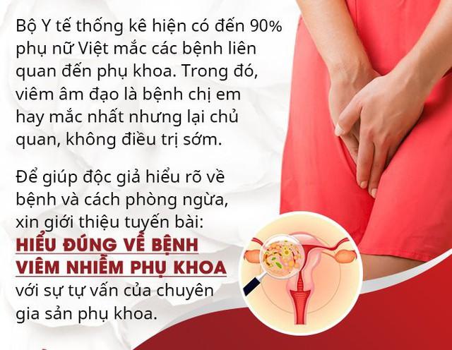 Thai phụ bị viêm âm đạo dù kiêng quan hệ, BS cảnh báo biến chứng nguy hiểm khi mắc bệnh - Ảnh 1.