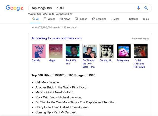 Những mẹo hay giúp bạn sử dụng Google Search tốt hơn - Ảnh 6.