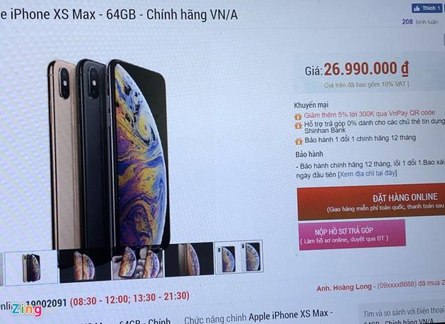 iPhone đời cũ giảm giá sau khi iPhone 11 về VN - Ảnh 1.
