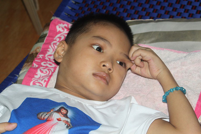 Phép màu đã không đến với cậu bé 8 tuổi mắc bệnh ung thư máu ở Hải Dương - Ảnh 6.
