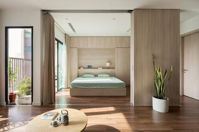 Căn hộ Hà Nội ngày có một phòng, đêm thành 3  - Ảnh 1.