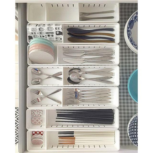 Những gợi ý không thể tuyệt hơn giúp phân chia ngăn kéo để lưu trữ đồ trong bếp vô cùng tiện lợi - Ảnh 1.