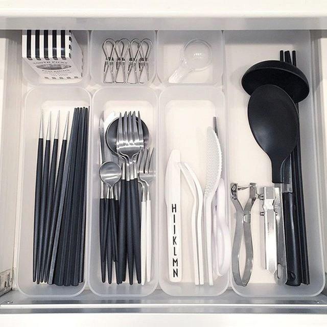 Những gợi ý không thể tuyệt hơn giúp phân chia ngăn kéo để lưu trữ đồ trong bếp vô cùng tiện lợi - Ảnh 2.