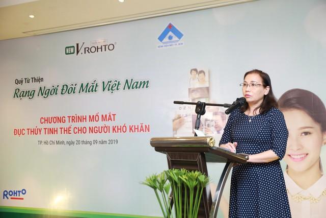 """Lễ ra mắt Quỹ từ thiện """"V.Rohto – Rạng ngời đôi mắt Việt Nam"""" - Ảnh 3."""