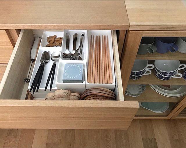 Những gợi ý không thể tuyệt hơn giúp phân chia ngăn kéo để lưu trữ đồ trong bếp vô cùng tiện lợi - Ảnh 5.