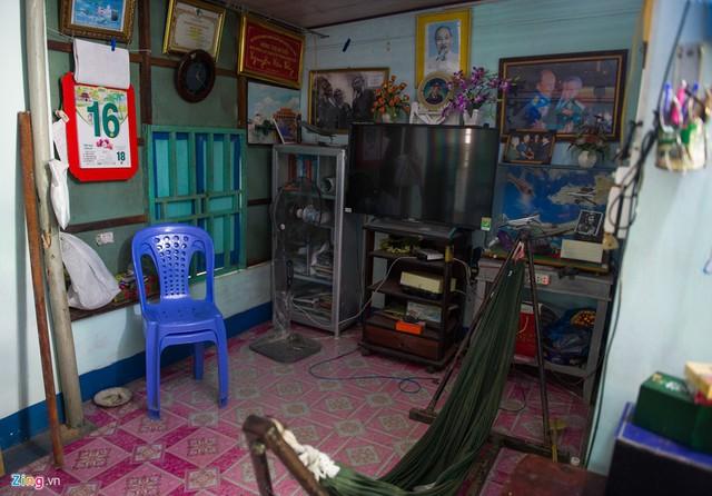 Xúc động hình ảnh cuộc sống bình dị lúc sinh thời của Anh hùng Nguyễn Văn Bảy - Ảnh 9.
