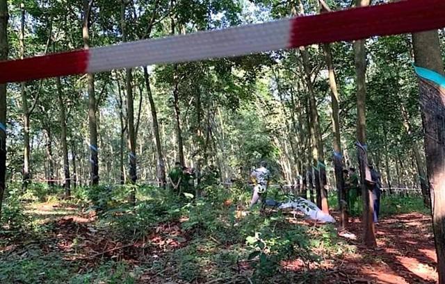 Thiếu nữ 16 tuổi nghi bị hiếp dâm, chết trong rừng cao su - Ảnh 1.