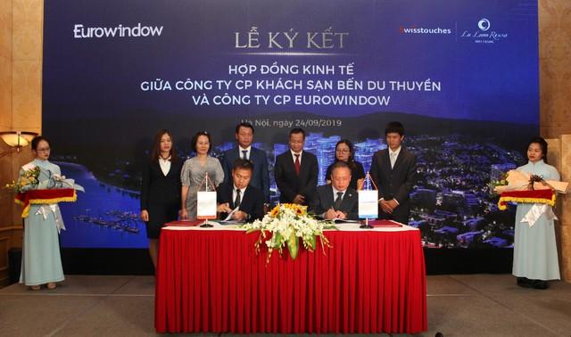 Eurowindow ký kết hợp đồng hợp tác với Chủ đầu tư Swisstouches La Luna Resort - Ảnh 1.