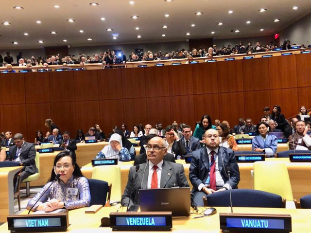 Bộ trưởng Bộ Y tế tham dự  phiên họp của Đại hội đồng Liên Hợp Quốc  - Ảnh 1.