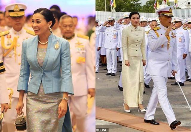 Hoàng quý phi Thái Lan lẻ loi đi sự kiện một mình, gây bất ngờ với phong cách hoàn toàn trái ngược với Hoàng hậu - Ảnh 11.