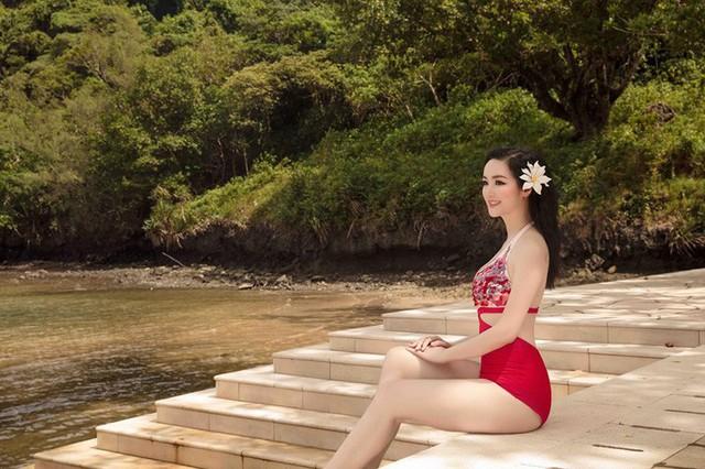 Đã U50 nhưng HH Giáng My vẫn tự tin diện đồ bơi khiến gái đôi mươi cũng phải ghen tị - Ảnh 2.