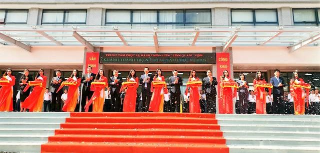 Quảng Ninh đưa trụ sở Trung tâm Phục vụ Hành chính công vào phục vụ người dân, doanh nghiệp - Ảnh 3.