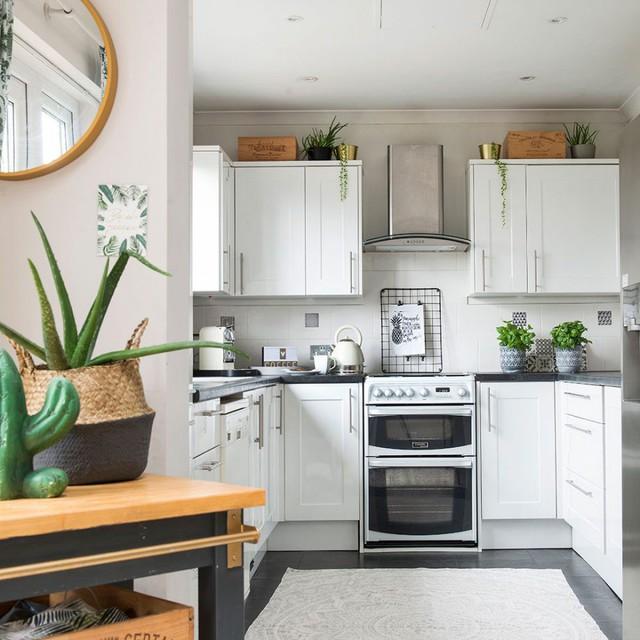 6 ý tưởng để có một căn bếp màu trắng hoàn hảo, ai đến cũng ngất ngây - Ảnh 2.