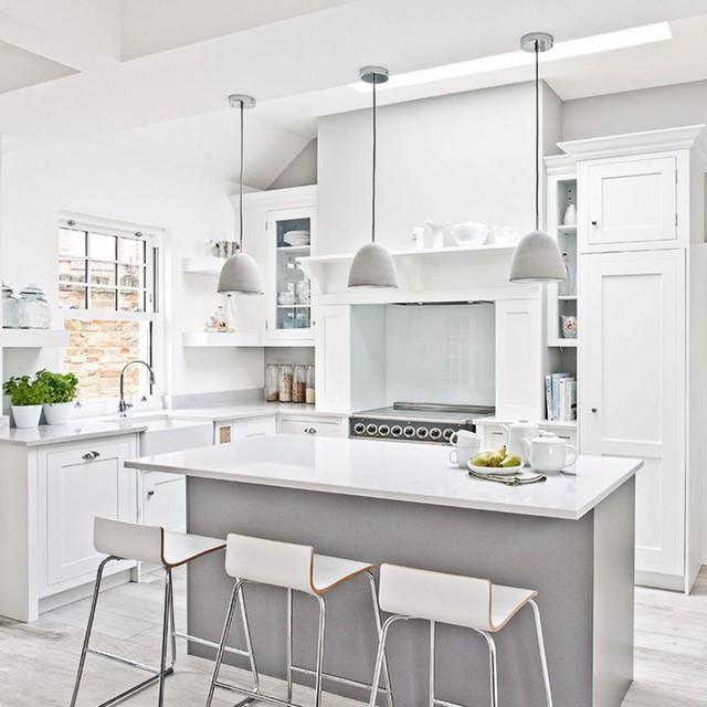 6 ý tưởng để có một căn bếp màu trắng hoàn hảo, ai đến cũng ngất ngây - Ảnh 3.