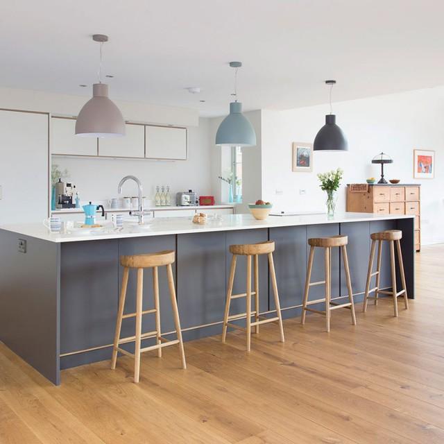 6 ý tưởng để có một căn bếp màu trắng hoàn hảo, ai đến cũng ngất ngây - Ảnh 4.