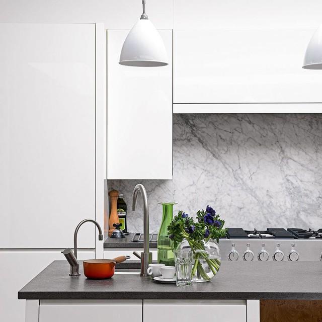 6 ý tưởng để có một căn bếp màu trắng hoàn hảo, ai đến cũng ngất ngây - Ảnh 6.
